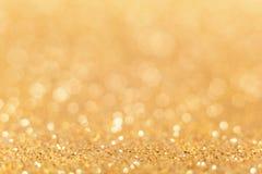 абстрактная предпосылка золотистая Стоковая Фотография RF