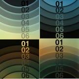 Абстрактная предпосылка, линия номера Стоковые Изображения RF