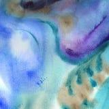 Абстрактная предпосылка искусства картины в геометрии космоса иллюстрации Стоковое Фото