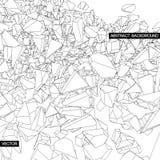 абстрактная предпосылка камни летания Стоковые Изображения RF