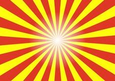 Абстрактная предпосылка картины луча солнца Стоковые Изображения
