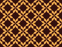 Абстрактная предпосылка картины флористического орнамента Стоковые Изображения RF