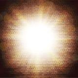Абстрактная предпосылка кирпича расплывчатые световые эффекты иллюстрация вектора