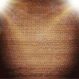 Абстрактная предпосылка кирпича расплывчатые световые эффекты иллюстрация штока