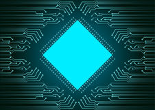 Абстрактная предпосылка; Концепция безопасностью кибер технологии стоковые изображения