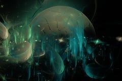 абстрактная предпосылка космическая Стоковые Изображения RF