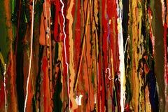 Абстрактная предпосылка красных цветов краски Стоковые Изображения RF