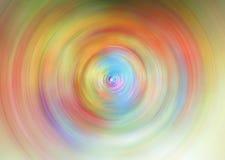 Абстрактная предпосылка красочной закрутки Стоковые Изображения RF