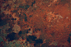 Абстрактная предпосылка металла ржавчины Стоковая Фотография