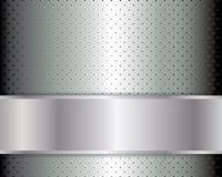 Абстрактная предпосылка, металлическая брошюра Стоковая Фотография RF