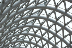 абстрактная предпосылка металлическая Стоковая Фотография RF
