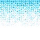 Абстрактная предпосылка много квадратов Изображение сломано в части Стоковые Изображения