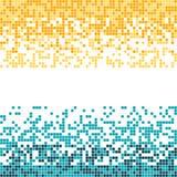 Абстрактная предпосылка много квадратов Изображение сломано в части Стоковое Изображение RF