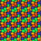 Абстрактная предпосылка мозаики цветного стекла бесплатная иллюстрация