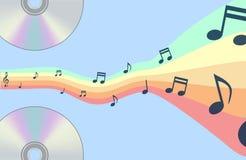 Абстрактная предпосылка музыки  Стоковое фото RF