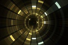 абстрактная предпосылка научной фантастики 3D футуристическая бесплатная иллюстрация