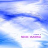 Абстрактная предпосылка неба в голубых цветах Стоковые Фото