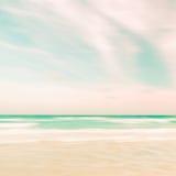 Абстрактная предпосылка неба и природы океана стоковая фотография rf