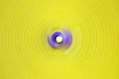Абстрактная предпосылка нерезкости движения круга закрутки радиальной Стоковая Фотография RF