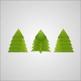 Абстрактная предпосылка Нового Года & рождественской елки иллюстрация вектора