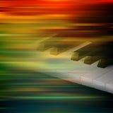 Абстрактная предпосылка нот grunge с роялем бесплатная иллюстрация