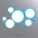абстрактная предпосылка объезжает вектор 10 eps Стоковое Фото
