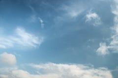 Абстрактная предпосылка облачного неба Стоковое Изображение