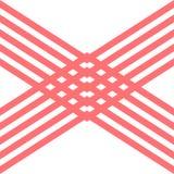 Абстрактная предпосылка логотипа дизайна формы x красная Стоковое Изображение RF