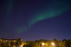 абстрактная предпосылка освещает северный вектор Стоковое Фото