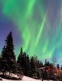 абстрактная предпосылка освещает северный вектор Стоковая Фотография