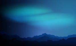 абстрактная предпосылка освещает северный вектор Стоковые Изображения