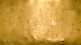 Абстрактная предпосылка от конца вверх по золотой текстуре стены Стоковое фото RF