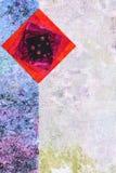 Абстрактная предпосылка от частей выстегивая тканей Стоковое фото RF