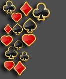 Абстрактная предпосылка покера бесплатная иллюстрация