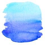 абстрактная предпосылка покрасила акварель Стоковое Фото