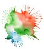 Абстрактная предпосылка помаркой акварели Стоковые Фотографии RF