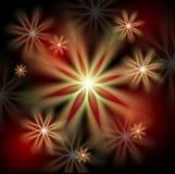 Абстрактная предпосылка праздника цветка Стоковое Фото