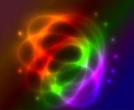 Абстрактная предпосылка плазмы Стоковые Фотографии RF