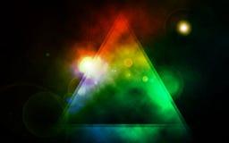 Абстрактная предпосылка, размечает nebular тему Стоковые Фотографии RF