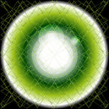 Абстрактная предпосылка разрывала салатовую черноту также вектор иллюстрации притяжки corel Стоковая Фотография