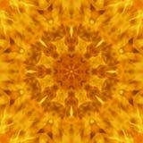 Абстрактная предпосылка расплывчатая движение пламени свирепствовала мандала Стоковое Изображение