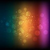 Абстрактная предпосылка радуги Стоковые Изображения RF