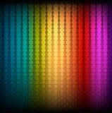 Абстрактная предпосылка радуги Стоковая Фотография