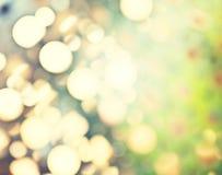 Абстрактная предпосылка ретро подкрашиванных светов Стоковое Фото