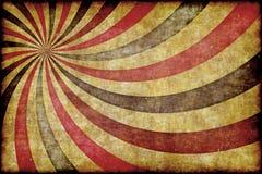 абстрактная предпосылка Ретро, солнечные лучи grunge Стоковое Изображение RF