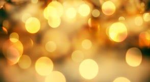 абстрактная предпосылка рождества с светами праздника Стоковое фото RF