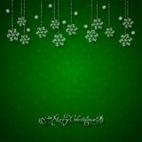 Абстрактная предпосылка рождества Стоковые Фото