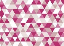 абстрактная предпосылка Розовая картина мозаики Стоковое фото RF