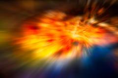Абстрактная предпосылка света движения Стоковые Фотографии RF