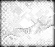 Абстрактная предпосылка серой шкалы Стоковые Изображения RF